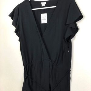 JCrew NWT Black Blouse